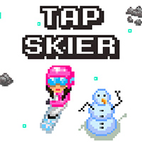 Tap Skier Play